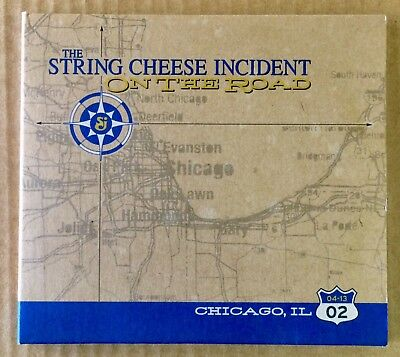 SCI The String Cheese Incident - NM CD - On The Road - Live 3 Disc Set 04/13/02