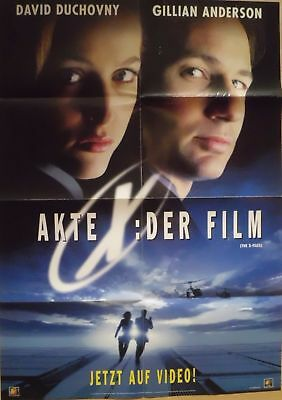 Filmposter A1 Kinoposter Plakat Akte X der Film - The X Files - Gillian Anderson
