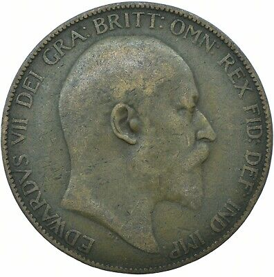 1902-1910 One Penny Coin - Edward Vii.  Choose Your Date!     One Coin/Buy!