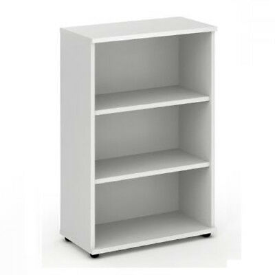 Trexus Office Bookcase 800mm 3 Shelves White - I000170
