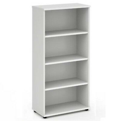 Trexus Office Bookcase 800mm 4 Shelves White - I000171