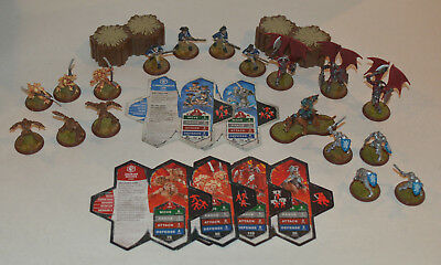 Heroscape Wave 2 - Drones & Minions, Knights & Swog Rider, Minute Men & Wolves