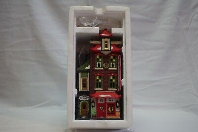 "Dept 56 Christmas In The City ""wong's In Chinatown"" New"