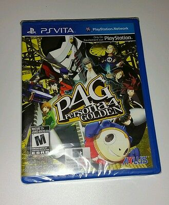PERSONA 4 GOLDEN PS Vita New Sealed US Version R1 Game Sony PlayStation 3 PSV