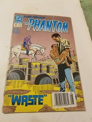 DC The Phantom #6 Aug. 1989