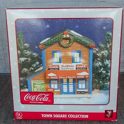 Coca-Cola Town Square Collection True Value Hardware ~ New In Box ~ Never Opened