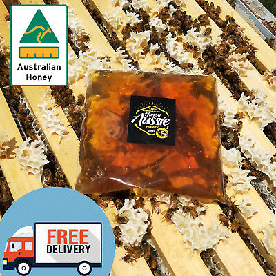 100% Pure Organic Eucalyptus Wildflower Blend 250G Oz Honey - Beekeeper Direct