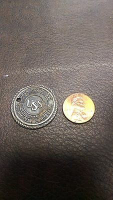 United States Steel Corporation Medal Coin Token Collectible 1952 Rare Vintage
