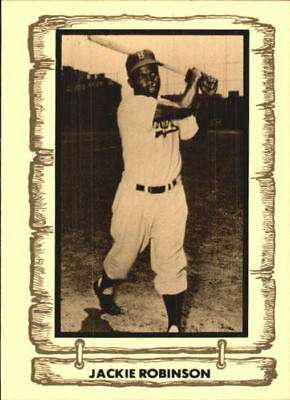 1980-83 Pacific Legends Baseball Card #15 Jackie Robinson - NM-MT