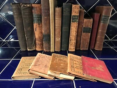 Antique Collectible Vintage Old Rare Hard To Find Books (1800's to Early 1900's)