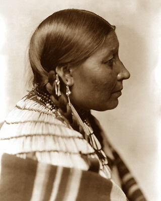 Wife Of American Horse 1898 Sioux Native American Sepia Photo