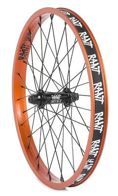 "RANT SQUAD BMX BIKE BICYCLE 20/"" RIM 36h FIT CULT HARO SHADOW SUBROSA KINK BLACK"