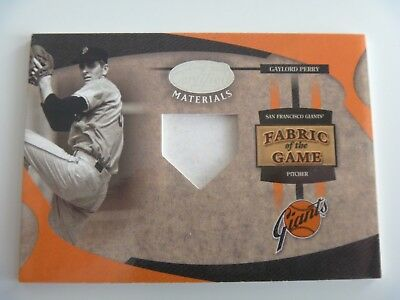 2005 Leaf Fabric of The Game 1/1 Pre-Production Proof SAMPLE Gaylord Perry GIANT