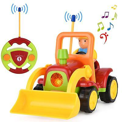 Cartoon Truck Car Radio Remote Control Tractor Kids Toddlers Toy Christmas Gift