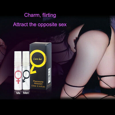 4ml Perfume with PHEROMONES for Attracting Women/Men Handsome Men Phero Strong