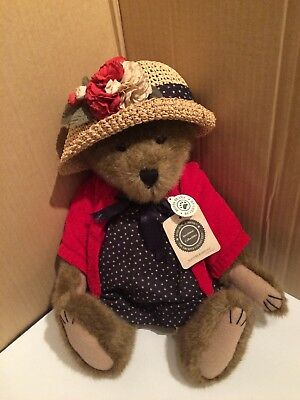 Boyds Bears Investment Collectibles The Archive Collection Eleanore Bearsevelt