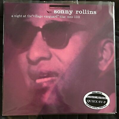 Sonny Rollins - A Night At Village Vanguard Classic Records Blue Note Lp 200 Gr