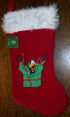 Daffy Duck Classic Christmas Stocking Looney Tunes Cartoons