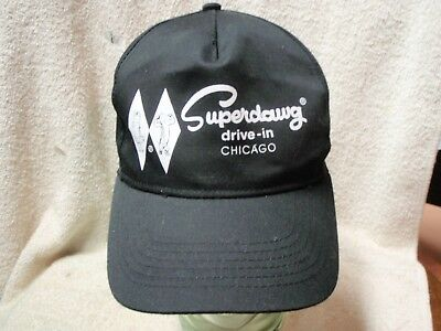 RARE Superdawg Drive - In  Chicago Illinois Snapback Adjustable Cap/Hat