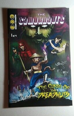 The Samurnauts Curse #1 Signed Autographed By Kyle Gnepper Wright Comic Con Book