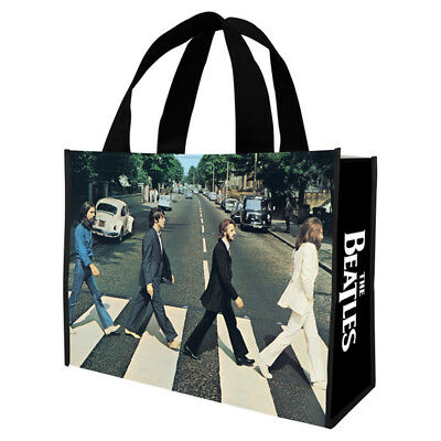 The Beatles Abbey Road Photo Large Recycled Shopper Tote Bag NEW UNUSED