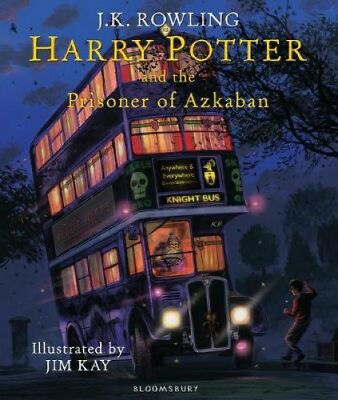 Harry Potter and the Prisoner of Azkaban: Illustrated Edition by J. K. Rowling.