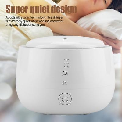 300ML LED Ultrasonic Essential Oil Humidifier Diffuser Aromatherapy Air Purifier