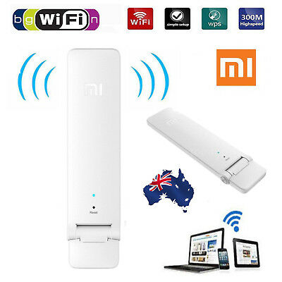 Xiaomi Mi WiFi Amplifier Wireless Wi-Fi Repeater2 Network USB Router Extender AU