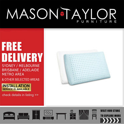 Mason Taylor Giselle Bedding Set of 2 Cool Gel Memory Foam Pillow AU