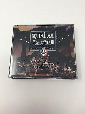 Grateful Dead View from the Vault III Soundtrack 3 Three 1990 Shoreline '87 3 CD