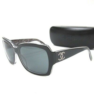 a8f21f1c5d596 NEW AUTHENTIC CHANEL 5221 c.1311 3C Grey Gradient 56mm 3N Sunglasses ...