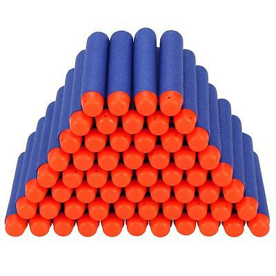 100-500 Nerf Gun Soft Refill Bullets Darts Round Head Blasters For N-Strike Toy