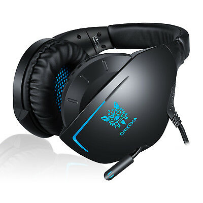 ONIKUMA K7 Dynamic Surrounding Stereo Bass Gaming Headset with Mic for PS4 Xbox