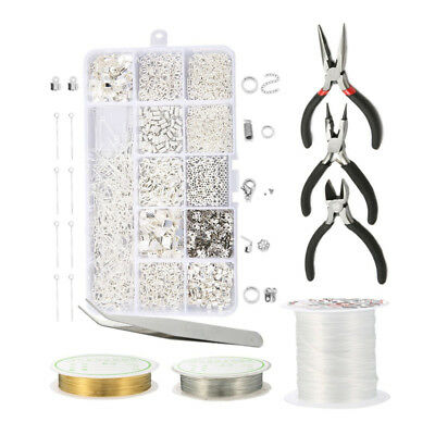 Wire Jewelry Making Starter Kit Sterling Silver and Repair Tools Craft Supply
