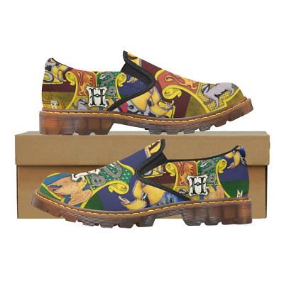 Custom Comfy Ladies Casual Flats Womens Slip On Loafer Harry Potter Shoes