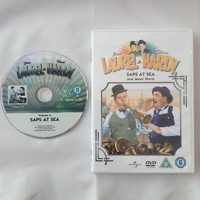 LAUREL and HARDY Saps At Sea DVD Film From 2011 Feature Film Collection