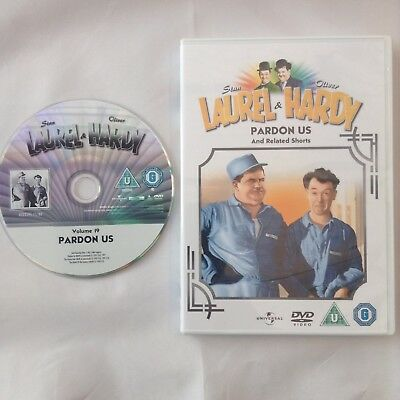 LAUREL and HARDY Pardon Us DVD Film From 2011 Feature Film Collection