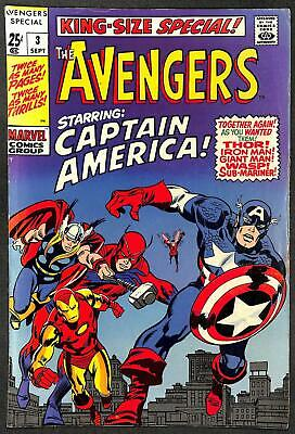 Avengers King Size Special #3 FN