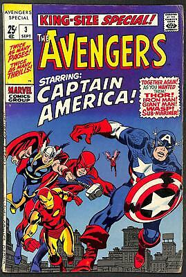 Avengers King Size Special #3 VG