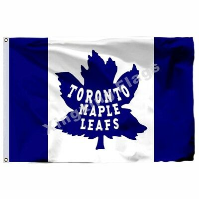 Toronto Maple Leafs Flag 3X5ft Polyester Nhl Banner Toronto Maple Leafs 90*150Cm
