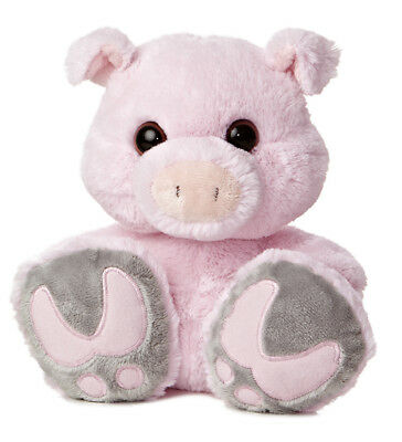 """Snortster Taddle Toes 10"""" Aurora Plush Pig"""