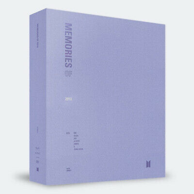 BTS MEMORIES OF 2018 DVD 4DISC+PhotoBook+Frame+Card+Photo+Sticker+GIFT SEALED