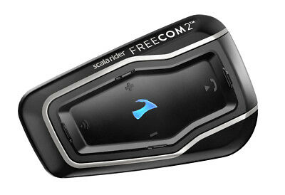 Cardo scala rider® Freecom 2 Single Bluetooth Headset Sprechanlage schwarz