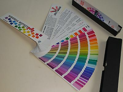 INTERCHEMICAL PRINTING INK-Litho Color SelectorSwatch- Uncoated- over 400 Colors