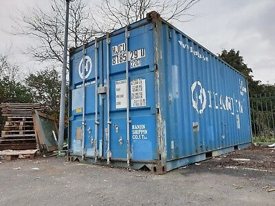 20ft x 8ft Shipping Metal Container Storage Unit