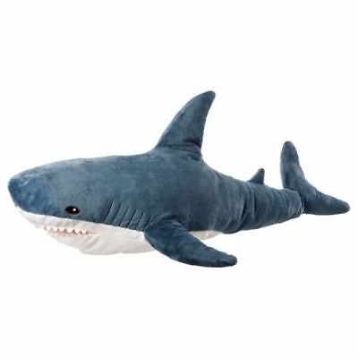 NEW IKEA BLAHAJ XX Large Soft Toy Big Shark,100 cm/40 Inches,18 months plus PUP1