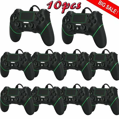 2/5/10pcs USB Wired Game Controller Gamepad Joypad Joystick for PS4 LOT FA