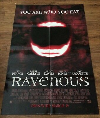 RAVENOUS Original, Double Sided, Movie Poster,27x40, HORROR