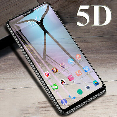 9H HD 5D Full Cover Tempered Glass Film Screen Protector for One Plus 6 6T/5 5T