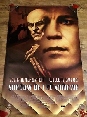 SHADOW OF THE VAMPIRE Original, Double Sided Movie Poster, 27x40, HORROR